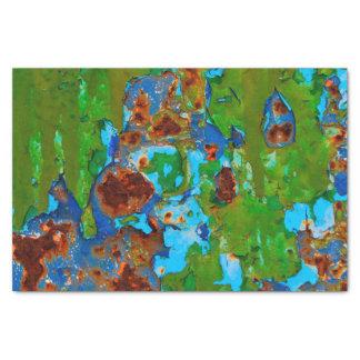 Papier Mousseline Texture grunge vintage en métal de peinture