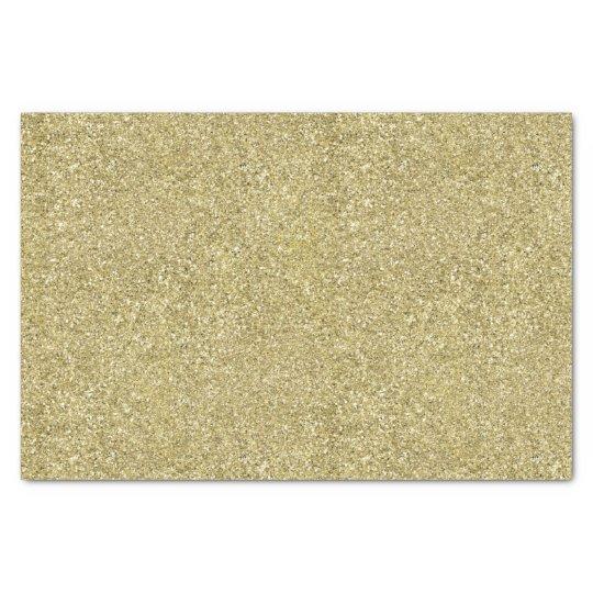 Papier Mousseline Toile d'or
