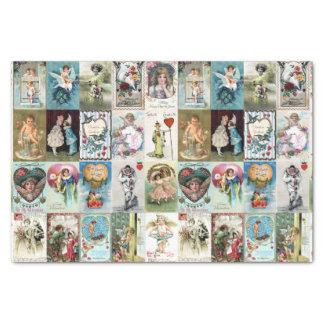 Papier Mousseline Valentine vintage