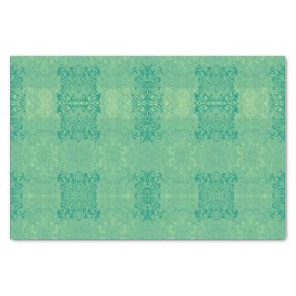 papier mousseline vert