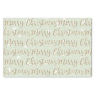 Papier Mousseline Vert de typographie de manuscrit d'or de Faux de