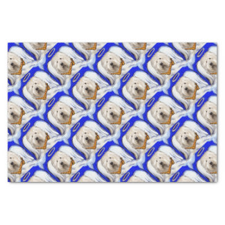 Papier Mousseline Vieux chien de moutons anglais