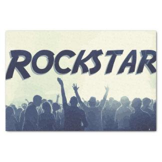 Papier Mousseline Vous êtes un Rockstar !