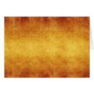 Papier parcheminé terre d'ombre brûlé âgé par cru cartes de vœux
