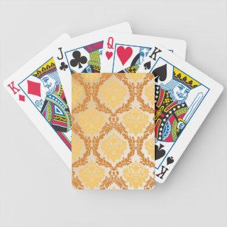 Papier peint 5 de damassé jeux de cartes