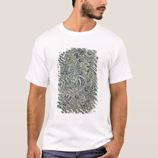Papier peint avec la conception de style d'algue t-shirt