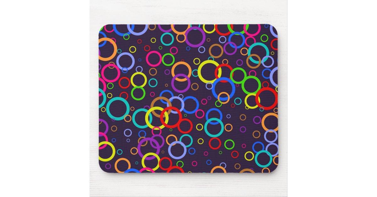 papier peint de cercle tapis de souris zazzle. Black Bedroom Furniture Sets. Home Design Ideas