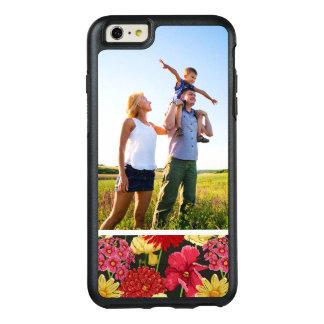 Papier peint floral de photo faite sur commande coque OtterBox iPhone 6 et 6s plus