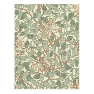 Papier peint floral William Morris de Cartes Postales