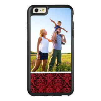 Papier peint rouge 2 de photo faite sur commande coque OtterBox iPhone 6 et 6s plus