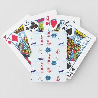 Papier peint sans couture de motif orienté jeu de cartes