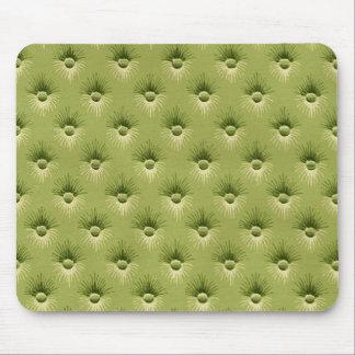 Papier peint vintage olive piqué tapis de souris