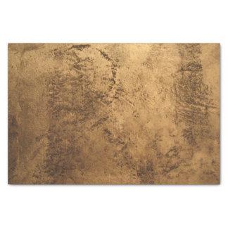 Papier texturisé de beau bronze d'or papier mousseline