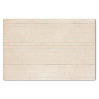 Papier vintage âgé de carnet papier mousseline