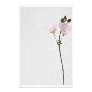 papiers flower motifs pour papier à lettre