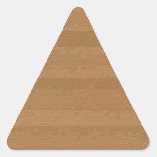 PAPIERS PEINTS T de MILIEUX de solid-brown3 SANDY Sticker Triangulaire