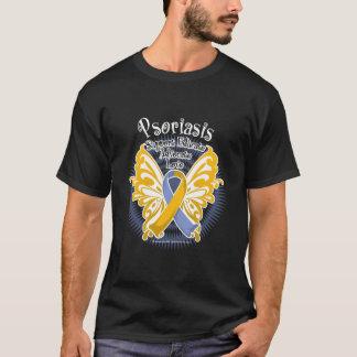 Papillon 3 de psoriasis t-shirt