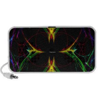 Papillon abstrait 3 haut-parleur portable