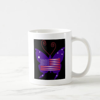 Papillon américain de diva mug à café