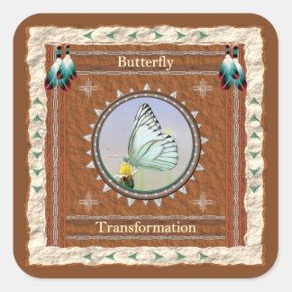 Papillon - autocollant de transformation - 20 par