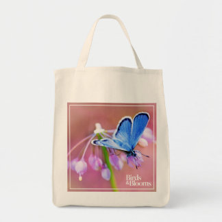 Papillon azuré sacs de toile