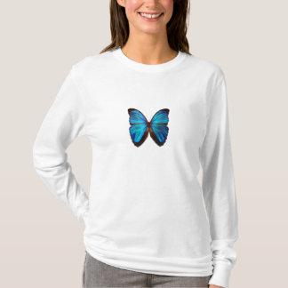 Papillon bleu de Morpho T-shirt
