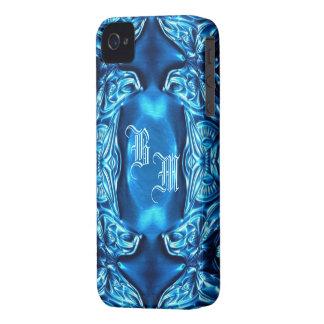 Papillon bleu Flower´´ de caisse de Blackberry ``