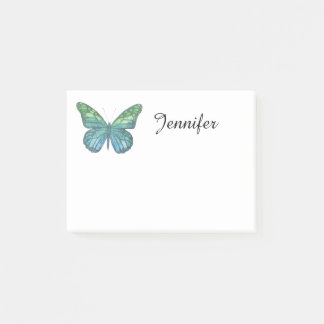 Papillon bleu post-it®