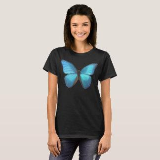 Papillon bleu t-shirt