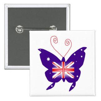 Papillon britannique de diva badge