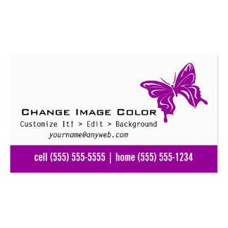Papillon - carte de visite personnel