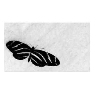 Papillon Carte De Visite Standard