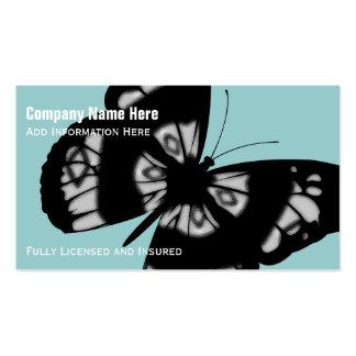 Papillon : Cartes de visite Carte De Visite Standard