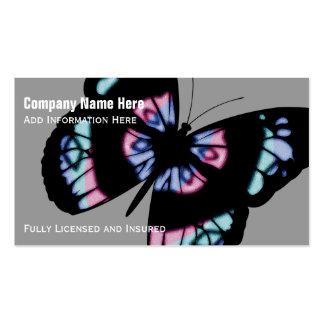 Papillon coloré : Cartes de visite Carte De Visite Standard