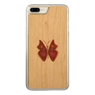 Papillon Coque Carved iPhone 8 Plus/7 Plus