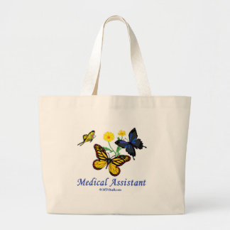 Papillon d'aide médical grand sac