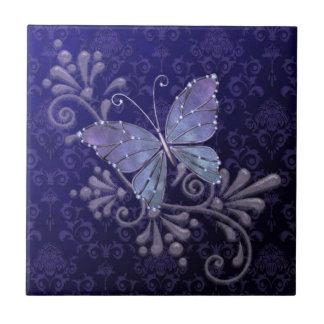Papillon de bijou petit carreau carré