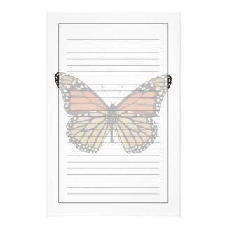 Papillon de Danaus de Plexippus Papeterie