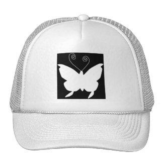 Papillon de diva casquette trucker