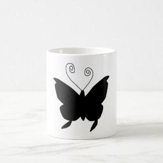 Papillon de diva mug à café