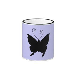 Papillon de diva mugs à café
