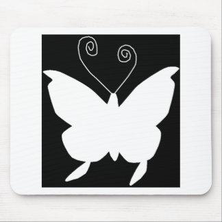 Papillon de diva tapis de souris