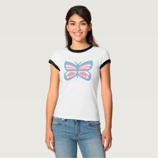 Papillon de drapeau de transport t-shirt