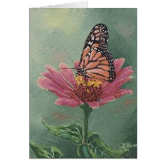 Papillon de monarque 0465 sur la carte