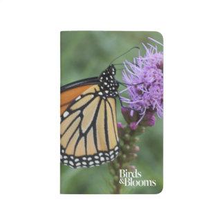 Papillon de monarque carnet de poche