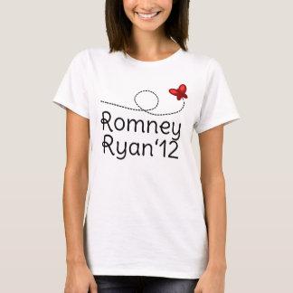 Papillon de rouge de Romney T-shirt