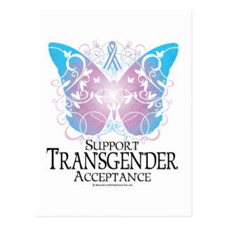 Papillon de transsexuel carte postale