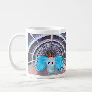 Papillon d'éléphant mug