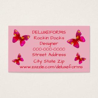 Papillon doux de Vigorosa Cartes De Visite