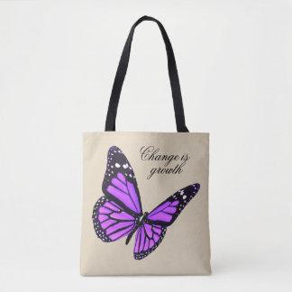 Papillon Fourre-tout d'orchidée Sac